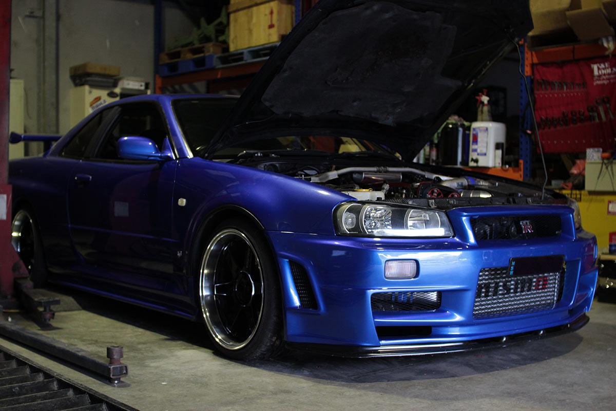 Nissan Gtr Fast And Furious >> R34 GTR T51r & Z-Tune kit   DVS Tuning